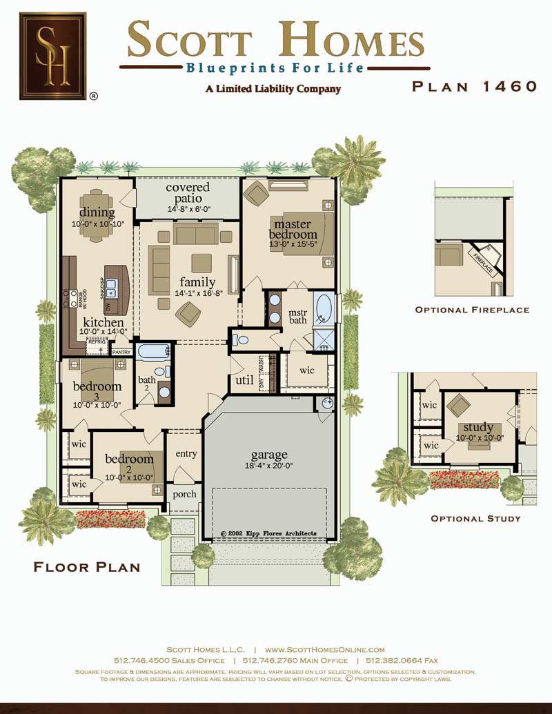 Scott Homes Plan 1460